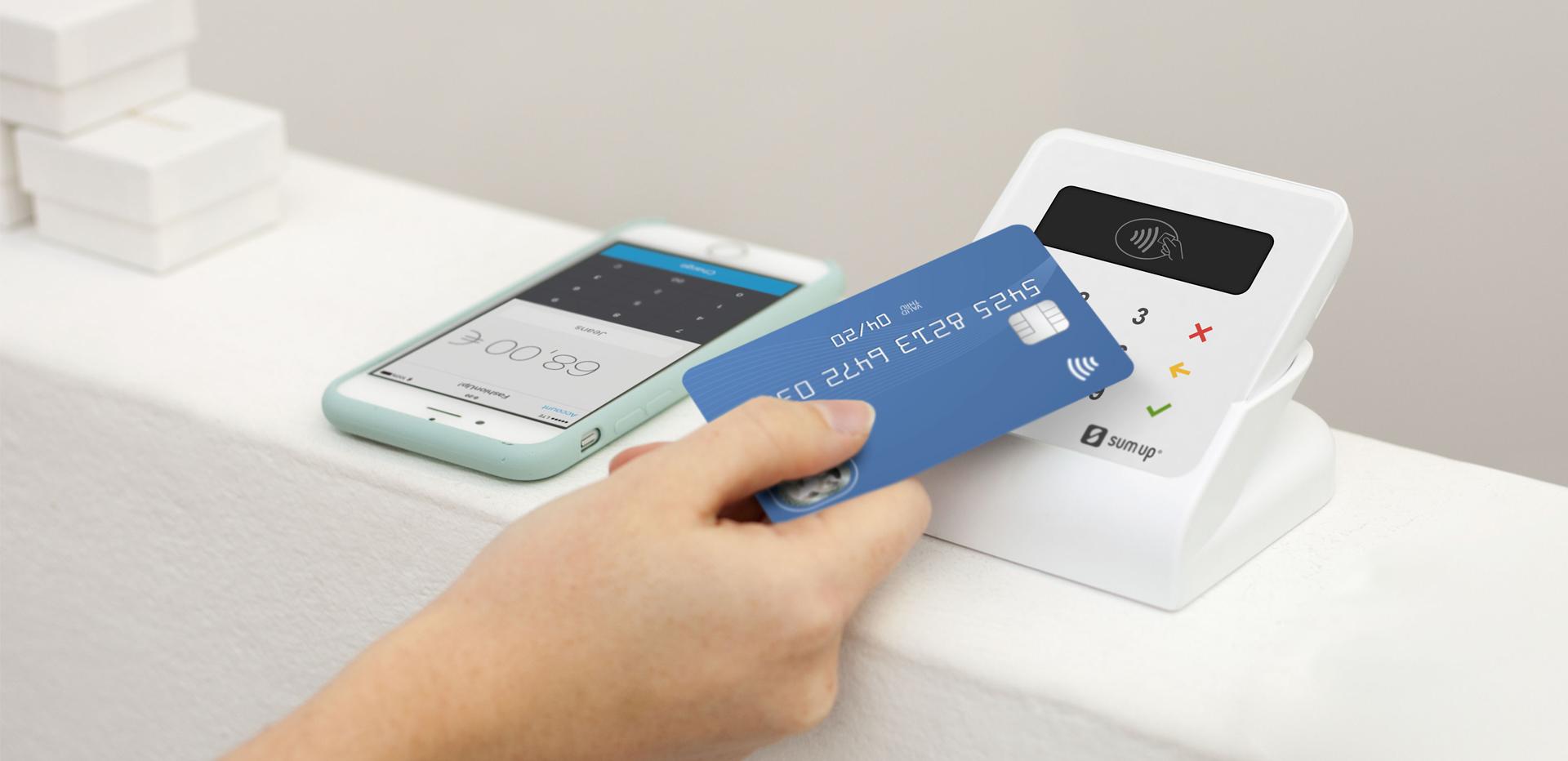 Sumup terminal de paiement mobile